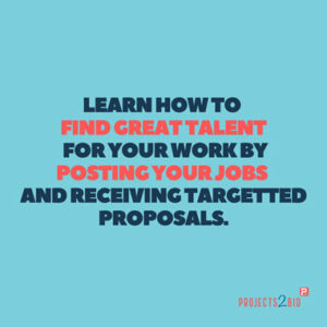 Learn how to find Great Talent for your work by Posting your Jobs and receiving targeted proposals